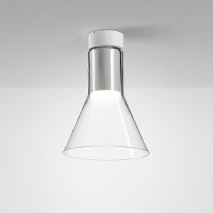 Modern Glass Flared LED - oprawa sufitowa AQForm